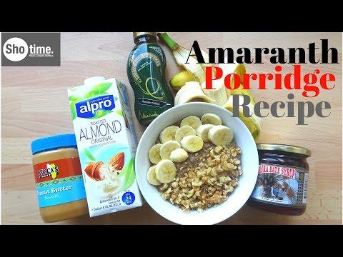 Amaranth porridge recipe|DrSebi alkaline food