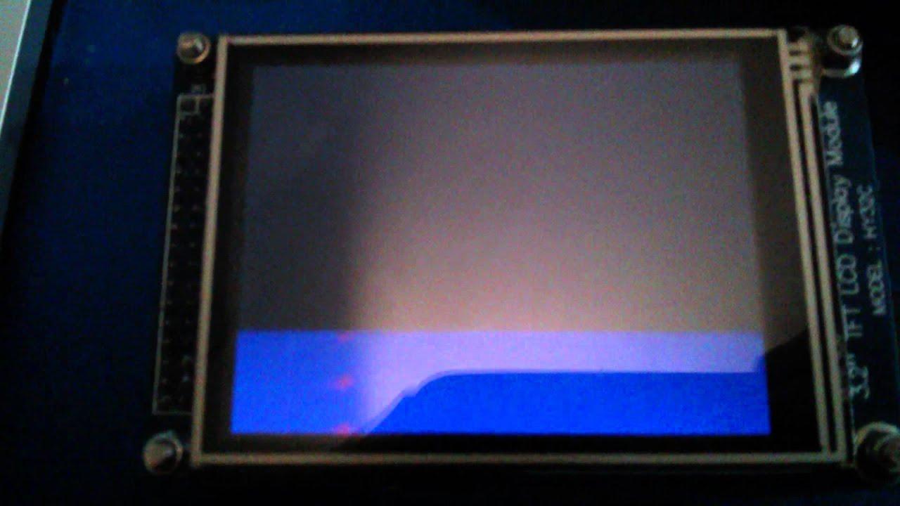 Diy 24ghz Spectrum Analyzer Waterfall Mode Audio Circuit 400led Led