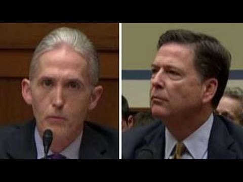 Gowdy grills Comey over Clinton's 'false statements'