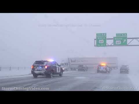 Maple Grove, MN Blizzard And Accidents - 12/23/2020