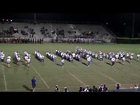 Hollywood Hills High School Marching Band -  Halftime Show - 9/6/2013