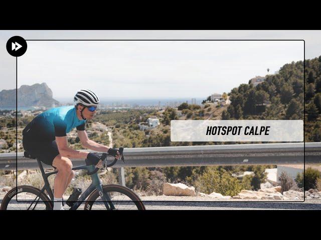 Calpe: hotspot voor fietsers