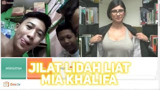Reaksi Orang INDONESIA Ketemu MIA KHALIFA di OME TV 🤣 #PRANK