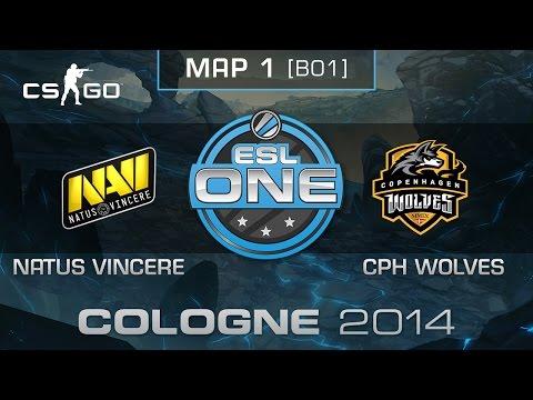 Natus Vincere vs. Copenhagen Wolves - ESL One Cologne 2014 - Group B Decider - CS:GO