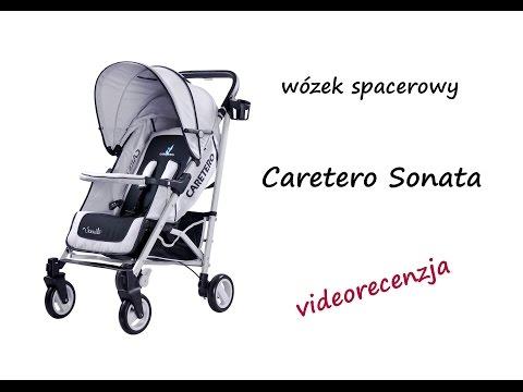 Caretero Sonata wózek spacerowy - recenzja