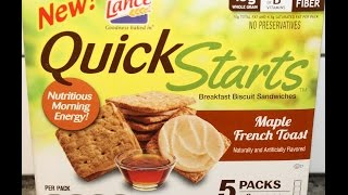 Lance Quick Starts: Maple French Toast Review