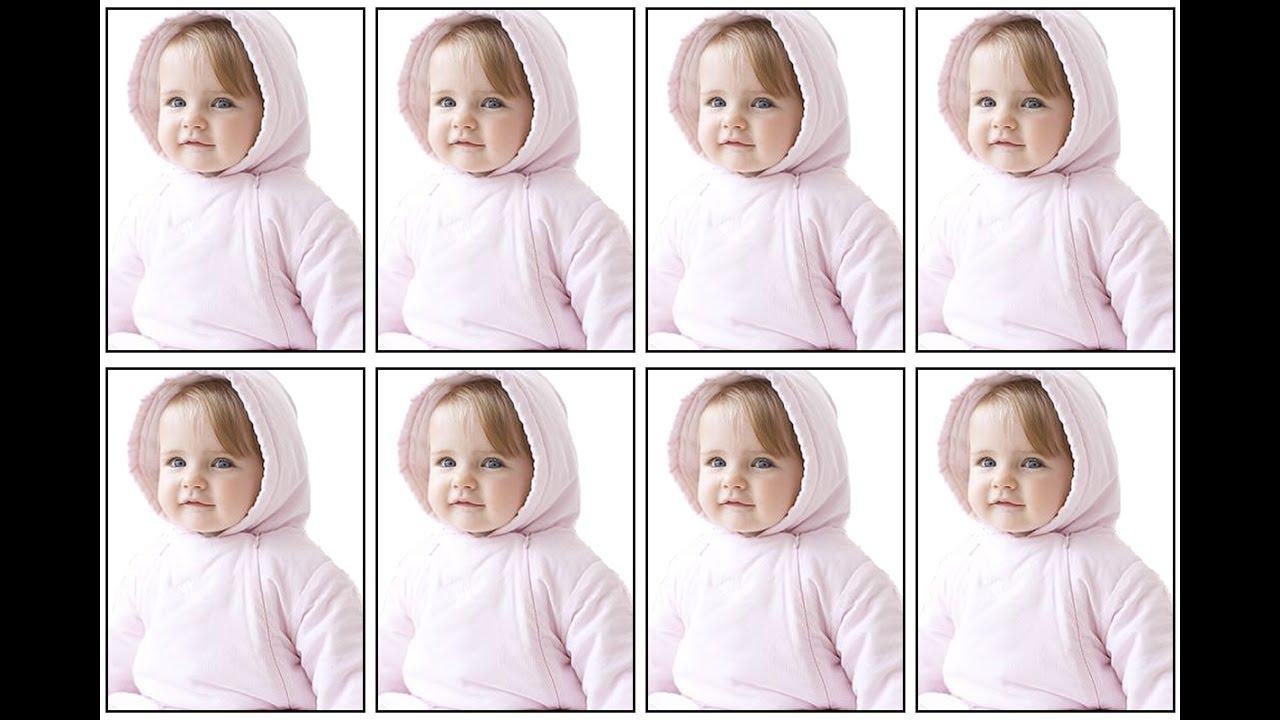 عمل صورة 4 6 مكررة مثل الأستوديو بنقرة واحدة باستخدام أكشن من انشائك Photoshop Amal Channel Youtube