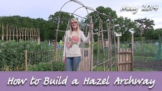 Katie's Allotment - May 2014 - The Archway Adventure