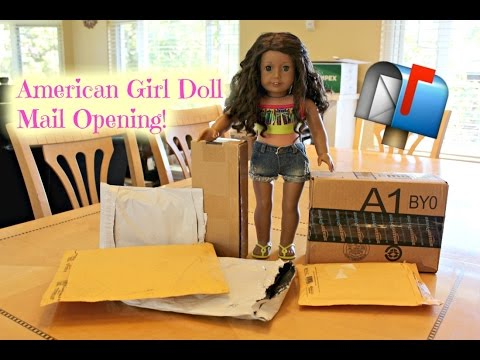 Opening American Girl Doll Mail/Packages HAUL!