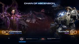 Starcraft 2 Co-op - Patch 3.16 BUG: Chain of Ascension no hybrids spawned(Brutal)