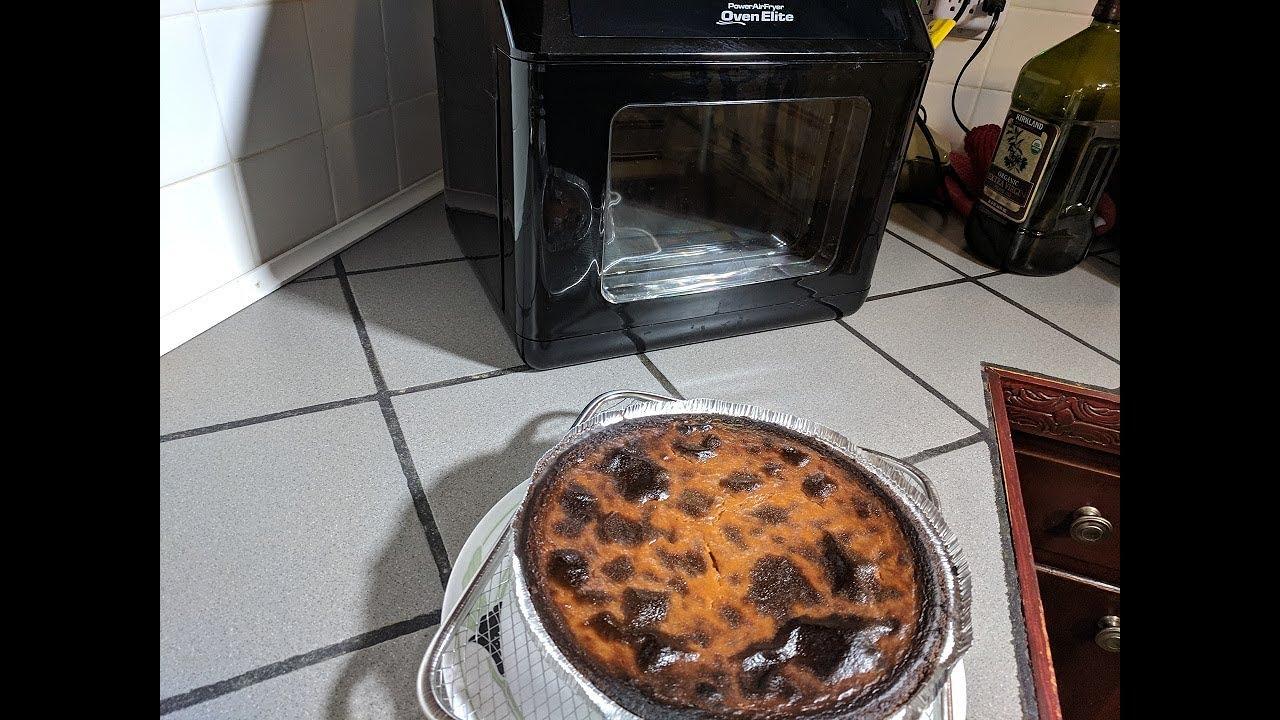 Pumpkin Pie (Power Air Fryer Oven Elite Recipe) - NuWave