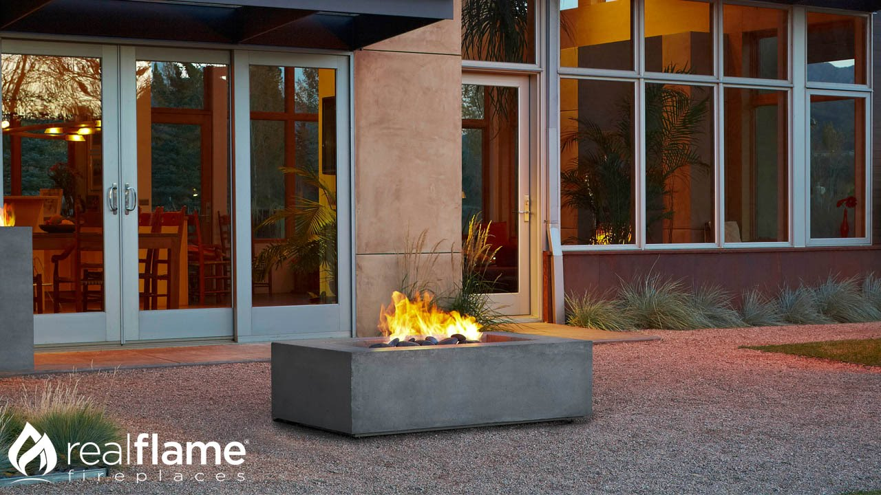 Real Flame Baltic Fire Table Instructional Video Youtube
