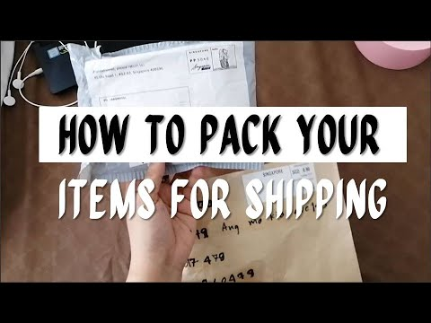 How To Pack Your Items For Shipping Or Mailing