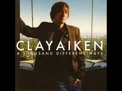 Clay Aiken - Right Here Waiting (High Definition Audio) from A Thousand Different Ways Album