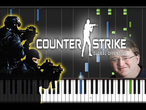 Counter Strike: Global Offensive - Main Theme Song Piano Cover [Synthesia Piano Tutorial]