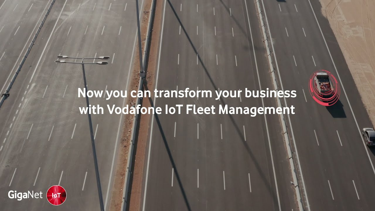 Vodafone IoT Fleet Management
