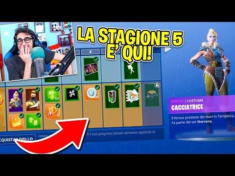 Fortnite ITA - REAZIONE AL NUOVO PASS BATTAGLIA 5!!