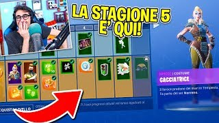 Fortnite ITA - REACTION TO THE NEW PASS BATTLE 5!!