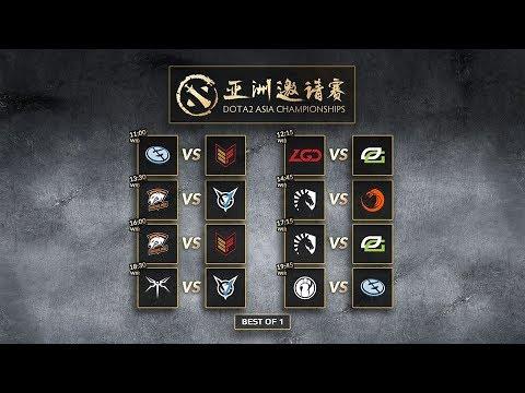 Invictus Gaming VS Evil Geniuses - Dota 2 Asia Championship 2018 Group Stage day 3