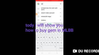 How To Buy Gems In Mobile Legends