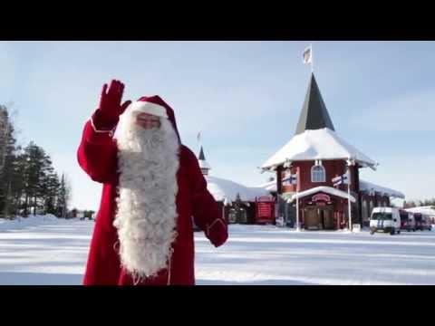 Christmas House Santa in Santa Claus Village in Lapland - Official Santa Claus of Arctic Circle