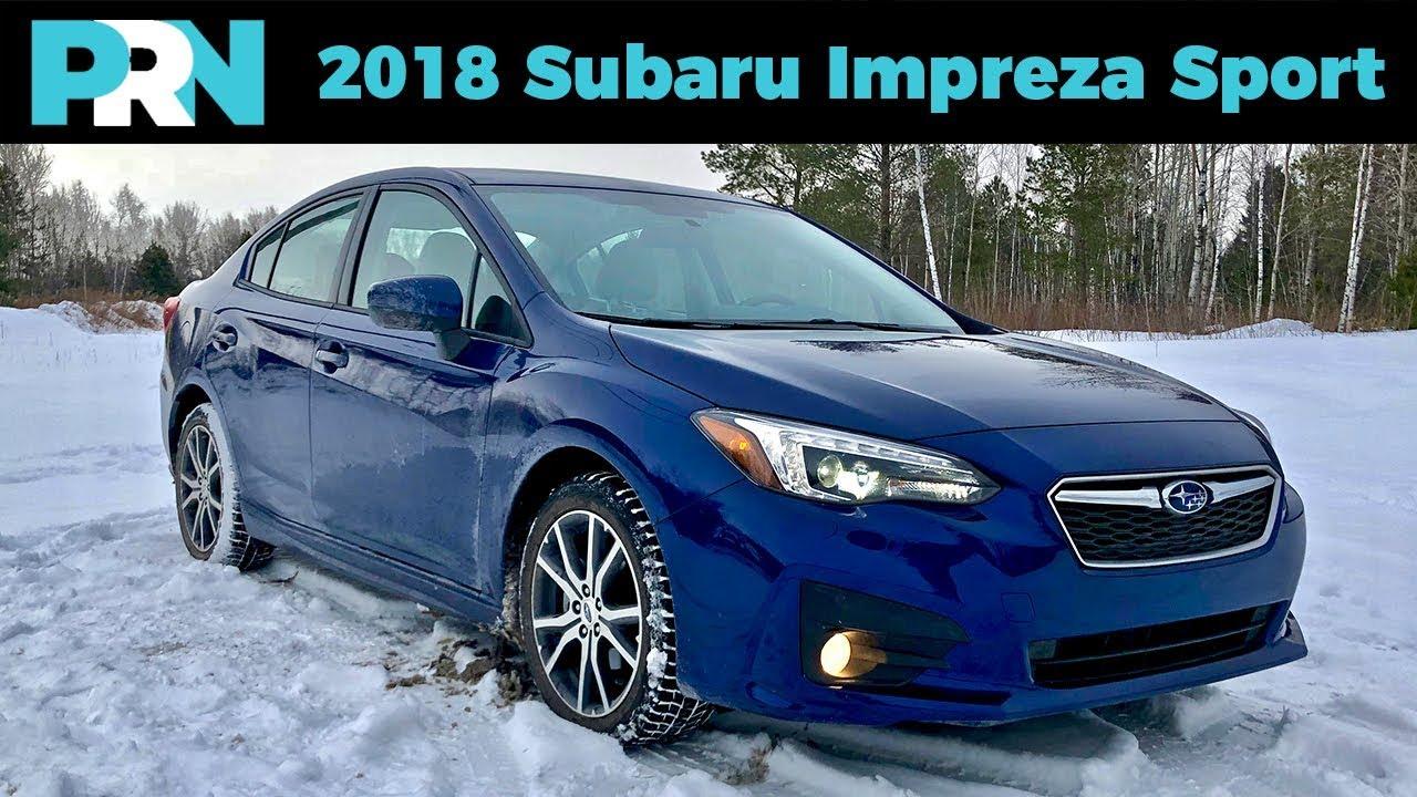 All Wheel Drive Perfection 2018 Subaru Impreza Sport Eyesight Testdrive Spotlight