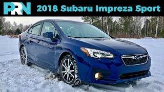 All-Wheel Drive Perfection | 2018 Subaru Impreza Sport + EyeSight | TestDrive Spotlight