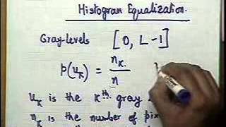 22  Histogram Equalisation