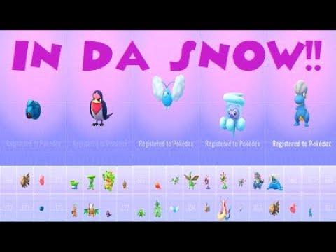 POKEMON GO Castform Snowy Form