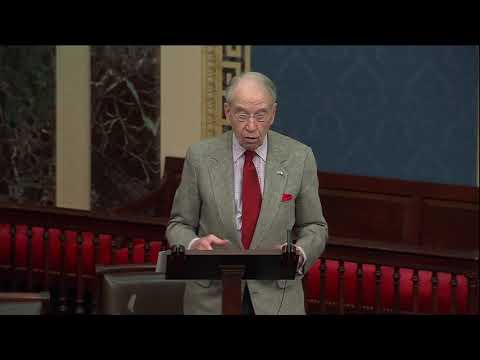 Grassley on Growing Threats to our National Security