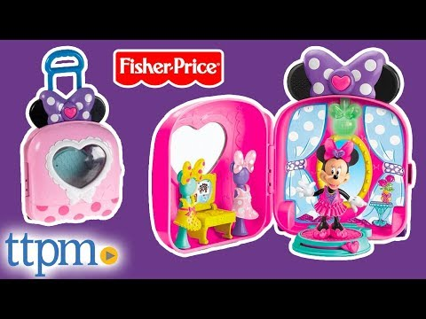 Minnie Mouse Bow-tique Minnie's Fashion On-the-Go From Fisher-Price