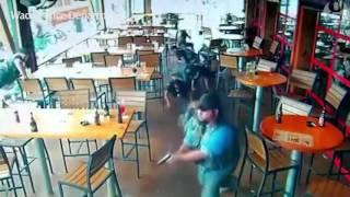 Waco biker gang shootout captured on restaurant's CCTV