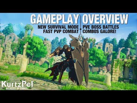 KurtzPel – GAMEPLAY OVERVIEW | New Survival Mode, Epic PVE Boss Battles, & Fast Paced PVP Combat