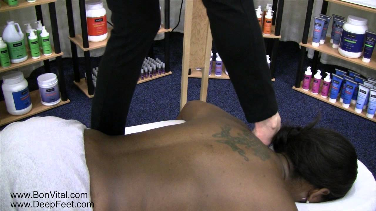 Ashiatsu Back Techniques with Ruthie Hardee