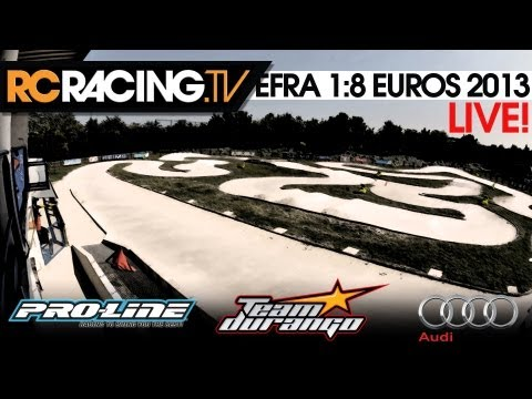 EFRA 1/8 Off Road European Championships - Friday Qualifying!