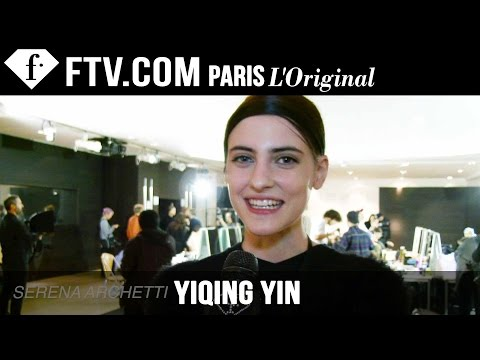 Yiqing Yin Backstage Part 2 | Paris Couture Fashion Week | FashionTV