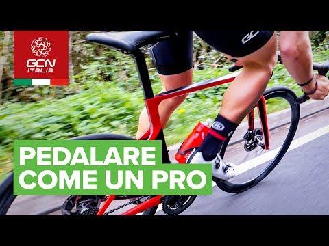 Pedalare come un PRO | come migliorare l'efficienza di pedalata