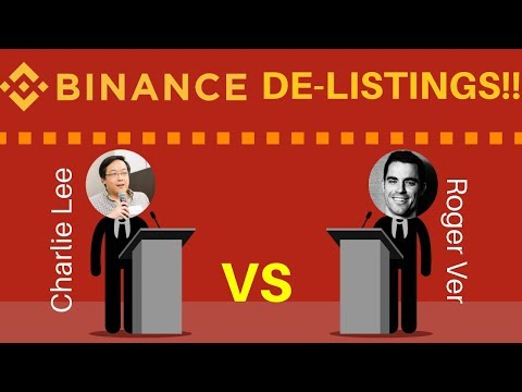 Roger Ver VS Charlie Lee + Binance DE-LISTINGS! - Today's Crypto News