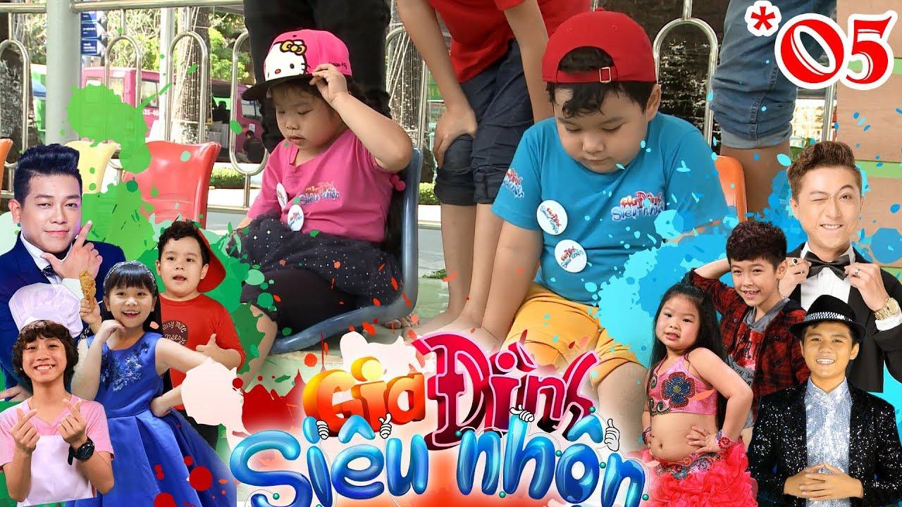 GIA ĐÌNH SIÊU NHỘN | GDSN #5 FULL | Gia Khiêm - Hoàng Long phát huy tinh thần U23 Việt Nam