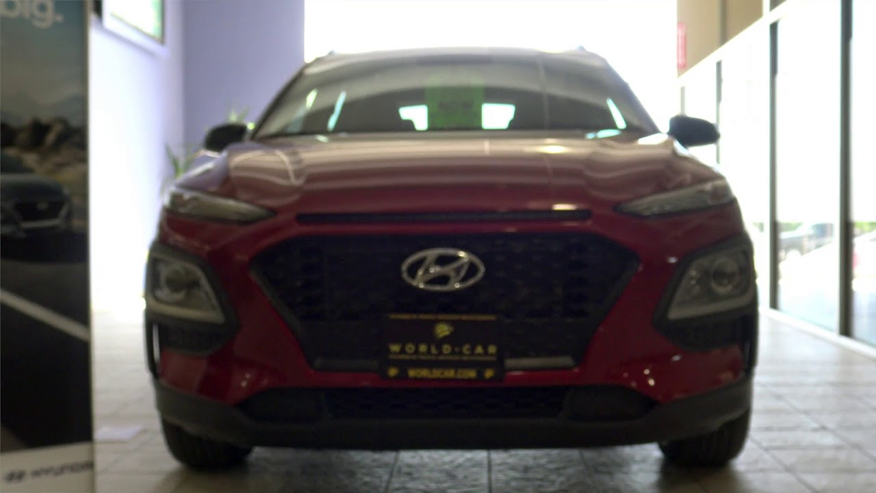 Hyundai Kona   Juan At World Car Hyundai South