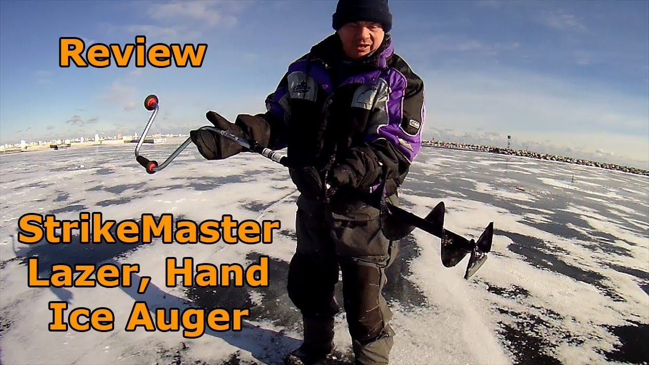 REVIEW: StrikeMaster Lazer, hand ice auger