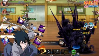 Almost Every Battlefield - Sasuke Rinne-Sharingan Skill Trial!! | Naruto Online