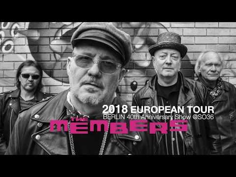 The Members European Tour Advert