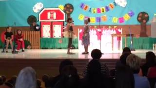 "Third Grade Play ""Spiderella"""