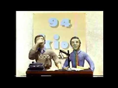 KIOA Radio, Des Moines, Iowa, Television Commercial 1983
