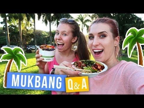 Czemu wyjechałam na Hawaje? 🌴MUKBANG z Q&A 🌈 | Agnieszka Grzelak Vlog i Zwariowani