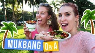 Vlog z Hawajów! MUKBANG z Q&A  | Agnieszka Grzelak Vlog i Zwariowani