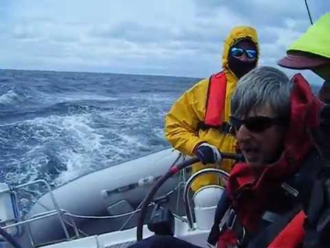 Sailing on Celtic Sea.