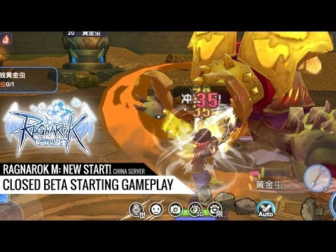 Ragnarok M: New Start! – Quick look at third mobile MMORPG based on