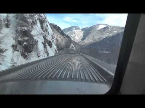 VIA Rail -- Part 2  Train #2 between Clearwater and Moose Lake BC